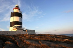 Hook Head Lighthouse is situated at the tip of the Hook Peninsula in County Wexford, in Ireland. It is one of the oldest lighthouses in the world, and the oldest operating lighthouse in Ireland.