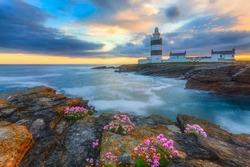 Hook Lighthouse sunset, Ireland