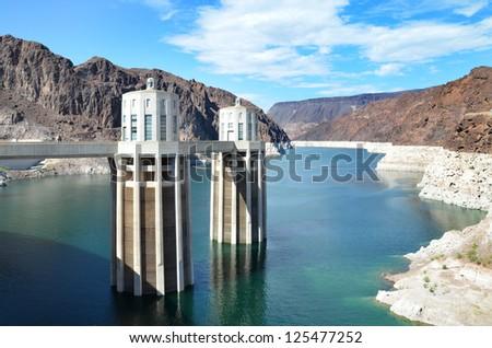 Hoover Dam and Lake Mead, Arizona, USA