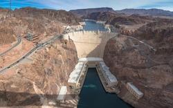 Hoover Dam, Black Canyon of the Colorado River, Nevada and Arizona, USA