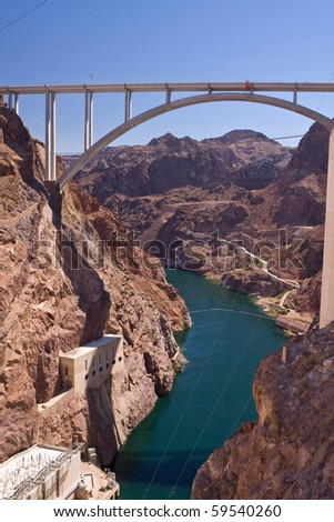 Hoover Dam bypass - Mike O'Callaghan - Pat Tillman Memorial Bridge