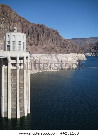 Hoover Dam on Lake Mead