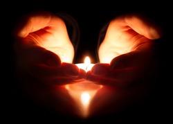 hope and prayer - faith is in the heart