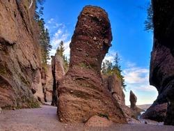Hopewell Rocks at Low Tide, New Brunswick, Canada