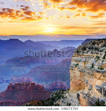 hopi point  grand canyon...