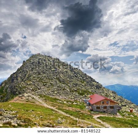 hopok mountain, low tatra slovakia