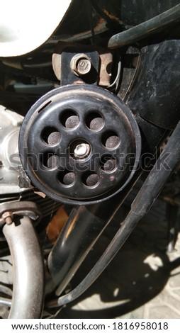 horen teknologi otomotiv photo background image  Stok fotoğraf ©