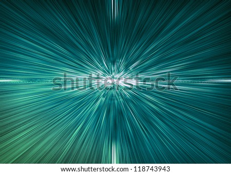 Horizon Lights - stock photo