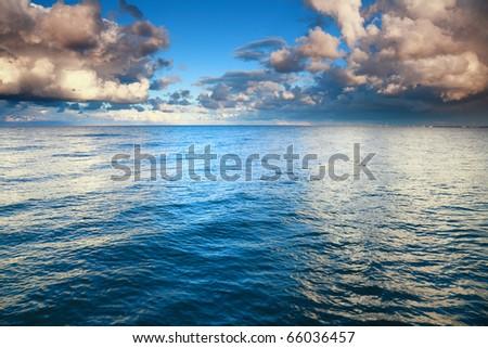 Horizon  sea sky, storm, tempest, sky clouded over #66036457