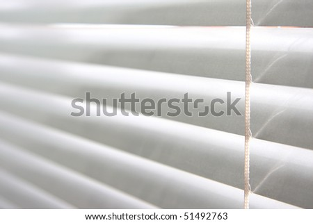horizontal blinds as a background