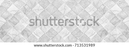 horizontal elegant white ceramic tile texture for pattern and background. #713531989