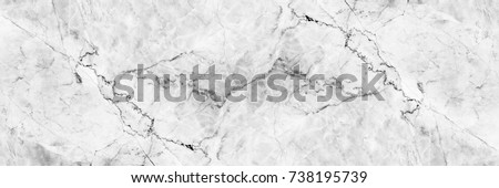 horizontal elegant white marble texture for pattern and background. #738195739