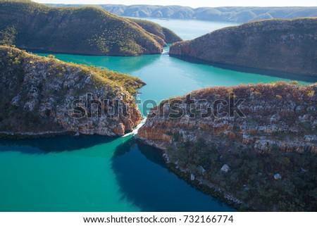 Horizontal falls, Talbot Bay, Western Australia.   #732166774
