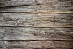 Horizontal old wood texture pattern background.