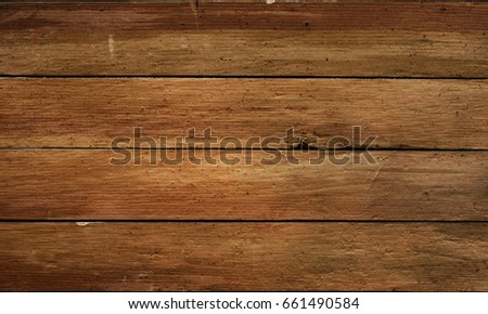 Horizontal old wooden planks texture #661490584