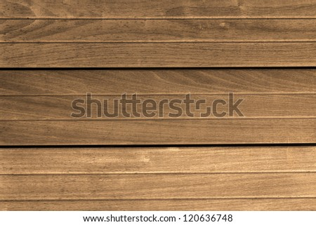 Horizontal plank wooden pattern