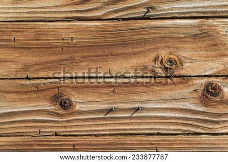 Horizontal Shot Of Old Weathered Wood/ Weathered Rustic Barn Wood Background