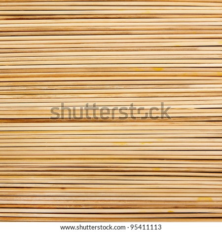 Horizontal straw stripes background