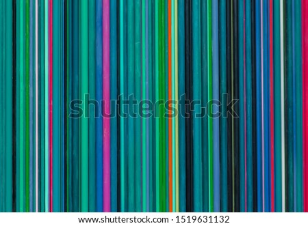 horizontal striped background of thin bright stripes of different colors #1519631132