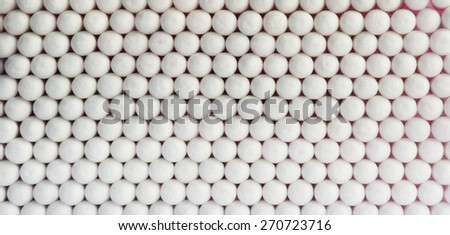 Horizontal  vivid white ball spheres business medicine abstraction background backdrop