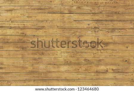 Horizontal wooden plank pattern