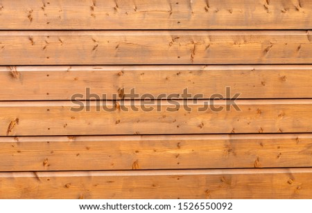 Horizontal wooden planking suitable for a background