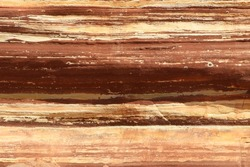 Horizontally striped natural stone texture background. Rock formation in the Kalbarri National Park, Western Australia