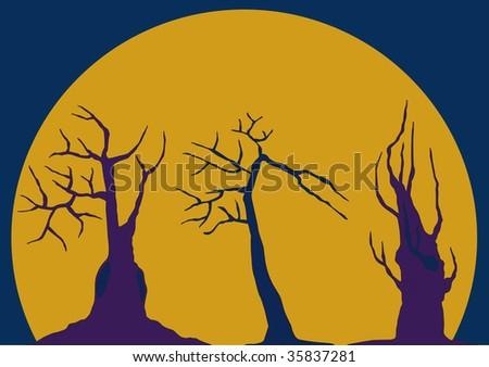 horror trees