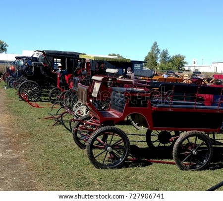 Horse Drawn Transportation #727906741