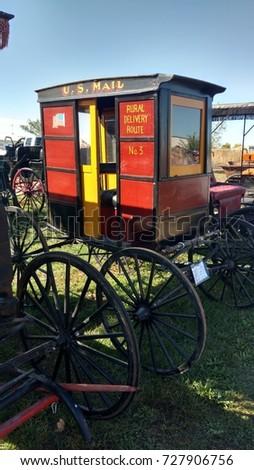 Horse Drawn Transportation #727906756