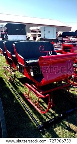 Horse Drawn Transportation #727906759