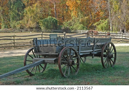 Horse Drawn Wagon Horse Drawn Wagon