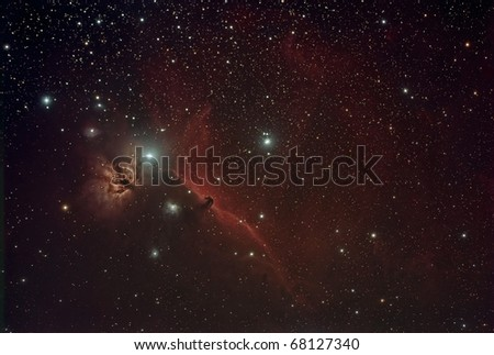 Horse Head and Flame Nebula