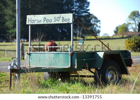 Horse poo for sale, Victoria, Australia