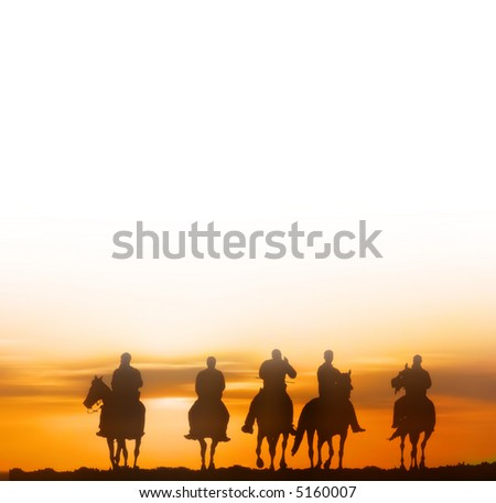horseriders - vector version available