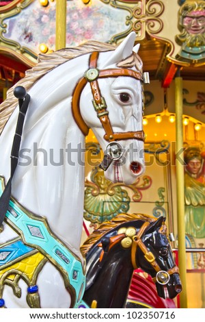Horses on a Merry Go Round