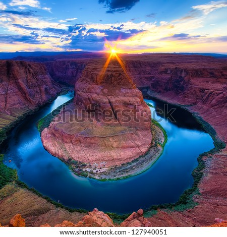 Horseshoe Bend Canyon, Arizona