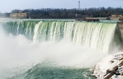 Horseshoe Falls as viewed from the Canadian side