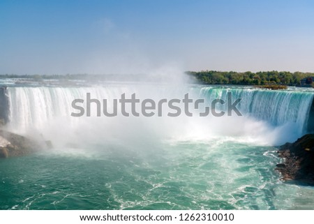 Horseshoe Falls from Niagara Falls - Ontario, Canada #1262310010