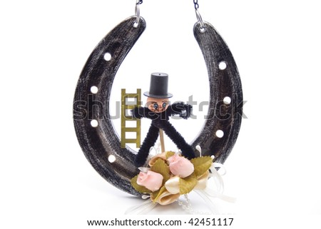 Horseshoe with chimney sweep