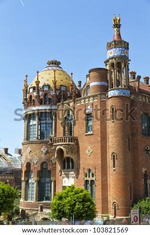 Hospital de la Santa Creu in Barcelona Spain