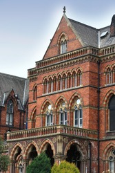 Hospital in Leeds city, UK. Leeds General Infirmary. Listed building.