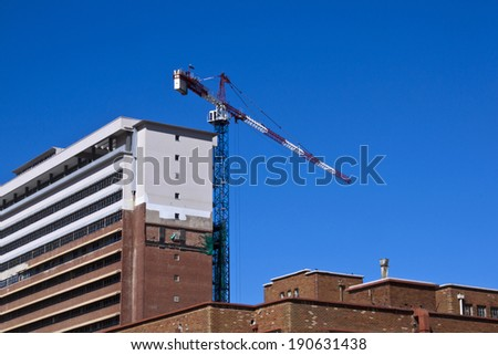 hospital in process of refurbishment and restoration