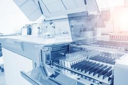 Hospital laboratories, automatic biochemical analyzer