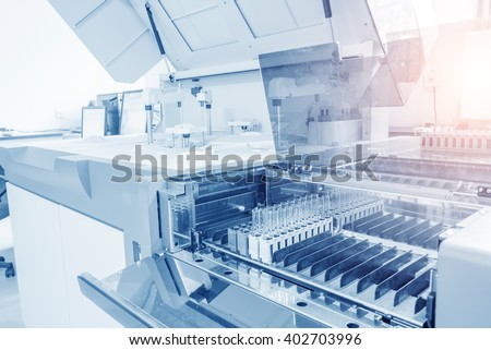 Hospital laboratories, automatic biochemical analyzer