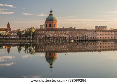 Hospital of La Grave in Toulouse. Toulouse, Occitanie, France.