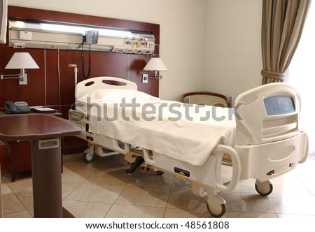 Hospital room, medical image