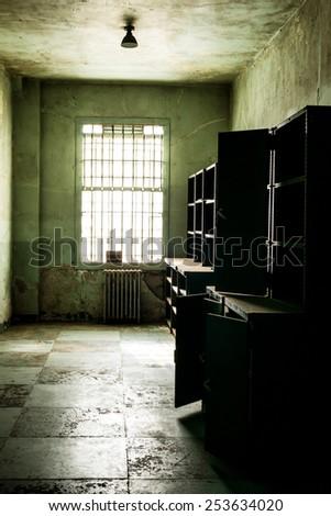 Hospital Supply Room - Vintage - Alcatraz