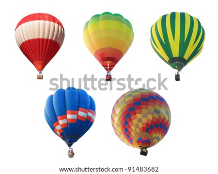 hot air balloon collections