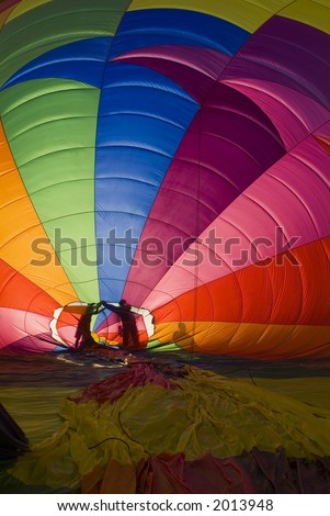 Hot air balloon festival with people 85. See more in my portfolio